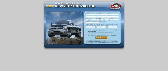 Win a Chevy Silverado HD Sweepstakes