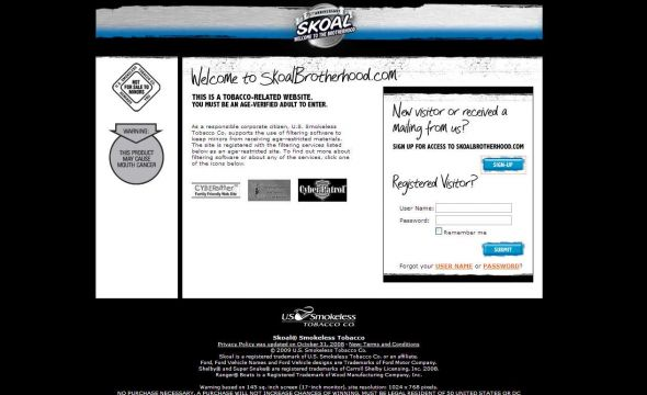 Skoal's Great Brotherhood Giveback Sweepstakes