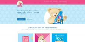 SnugglebBearYourHeart.com – Snuggle Bear Your Heart Instant Win Game