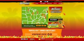 Hot Tamales Tropical Heat Summer Sweepstakes: Win a year's supply of Tropical Heat!