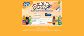 2009 Sunkist Soda Drink Up Fill Up UTC Game