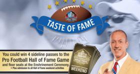 Land O'Frost Taste of Fame Sweepstakes 2017 (LandOFrost.com/Fame)