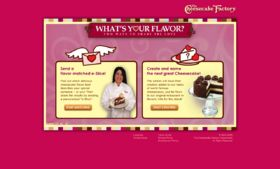 Cheesecake Factory What's Your Flavor Contest