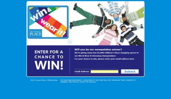 Children's Place Sweepstakes