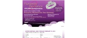 Run Away To Romance Sweepstakes