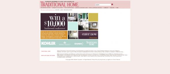 Traditional Home Bathroom Makeover Sweepstakes