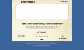 Transitions Watch and Win Soccer Sweepstakes