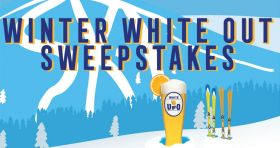 Harpoon Brewery's UFO Winter White Out Sweepstakes (UFOBeer.com)