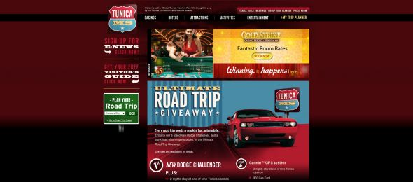 Ultimate Road Trip to Tunica Getaway Contest