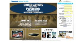 The United Artists / Panasonic 90th Anniversary Sweepstakes