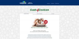 Valpak Cash 4 Cookies Sweepstakes: Enter At Valpak.com/Holiday