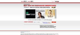 Verizon FiOS Best Seat In Your House Instant Win Game and Sweepstakes