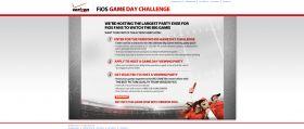 Verizon FiOS Game Day Challenge
