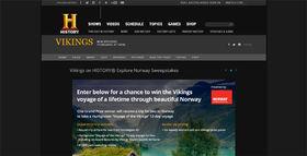 History.com/NorwaySweeps: Vikings on HISTORY Explore Norway Sweepstakes