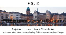 Vogue Stockholm Sweepstakes 2017 (Vogue.com/StockholmSweeps)