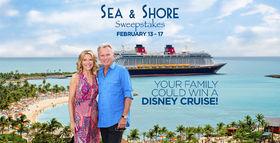 Wheel Of Fortune Disney Sea & Shore Sweepstakes 2017