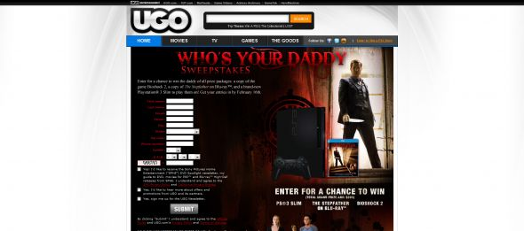 Who's Your Daddy Sweepstakes