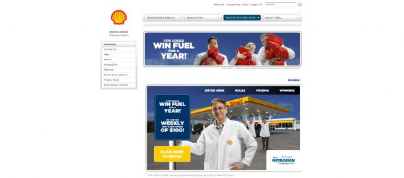 Shell Win Fuel For A Year Sweepstakes
