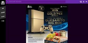 TacoBell.com/WinPS4 – Taco Bell and PlayStation Game