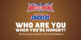 WWE.com/HungryForMania: WWE & SNICKERS Hungry For Mania Sweepstakes
