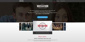 XfinitySweepstakes.com: XFINITY Watchathon 2016 Sweepstakes