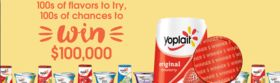 Enter Your Code At Yoplait.com/100Ways For A Chance To Win $100,000