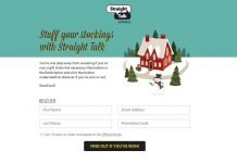 TracFone and Straight Talk Stuff Your Stocking Instant Win Game