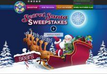 Wheel of Fortune Sears Secret Santa Sweepstakes