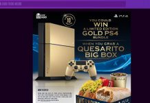 TacoBell.com/WinPS4 - Taco Bell and PlayStation Game