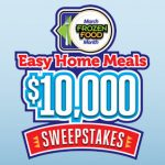 March Frozen Food Month $10,000 Sweepstakes