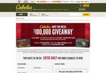 Cabelas.com/Bucks - Cabela's Hunt For Bucks Giveaway