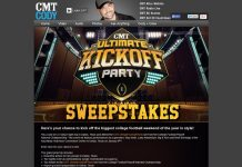 CMT Ultimate Kick Off Party Sweepstakes