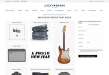 Lucky Brand Have A Rocking New Year Sweepstakes