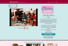 American Girl For Goodness, Bake! Sweepstakes