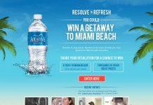 Aquafina Resolve to Refresh Sweepstakes (resolvetorefresh.com)