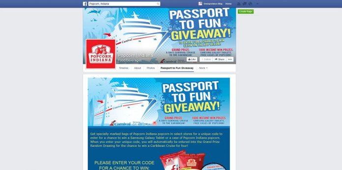 Passport To Fun Giveaway (facebook.com/popcornindiana)