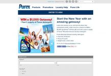 Purex Start The New Year With An Amazing Getaway! Sweepstakes