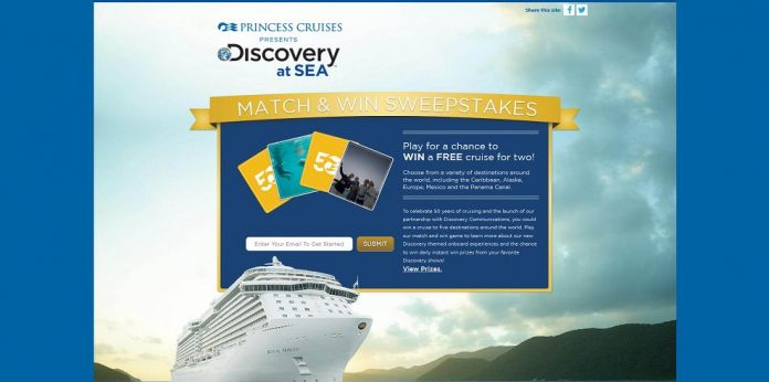 Discovery At Sea Match And Win Sweepstakes