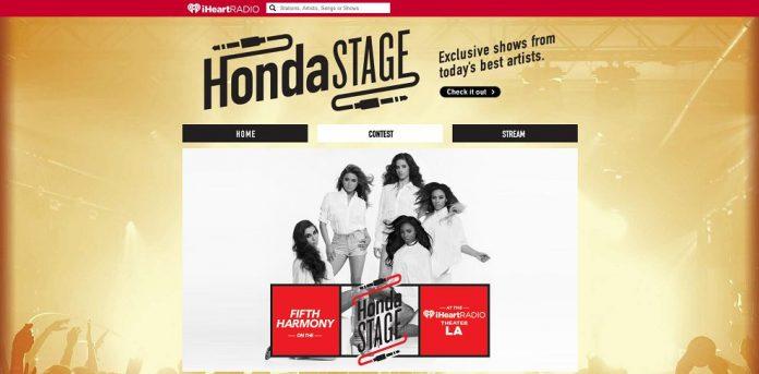 iHeartRadio Fifth Harmony Flyaway Sweepstakes