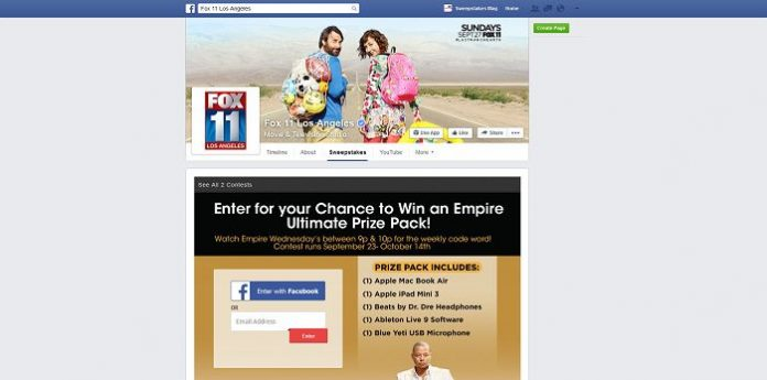 FOX 11 Empire Mastermix Sweepstakes