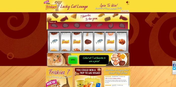 Purina Friskies 7 Lucky Cat Sweepstakes - Friskies7.com