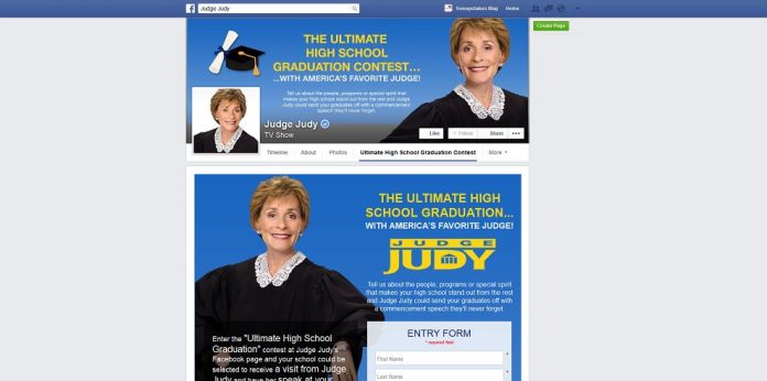 The Ultimate High School Graduation With America's Favorite Judge Contest