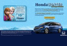 Honda Winter Sweepstakes