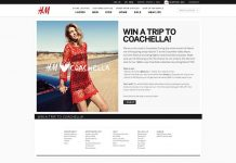 H&M Win A Trip To Coachella Contest