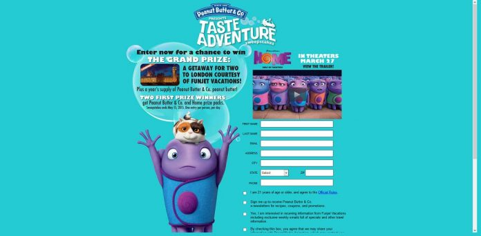 Taste Adventure Sweepstakes - TasteAdventureSweeps.com