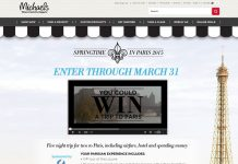 Michaels Springtime in Paris Contest