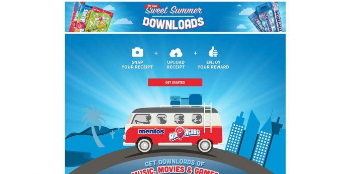 Sweet Summer Downloads Sweepstakes (Sweeter.HipRewards.com)