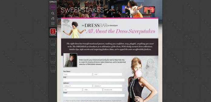 All About The Dress Sweepstakes