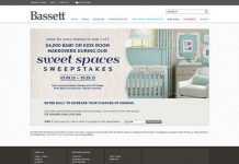 Bassett Sweet Spaces Sweepstakes