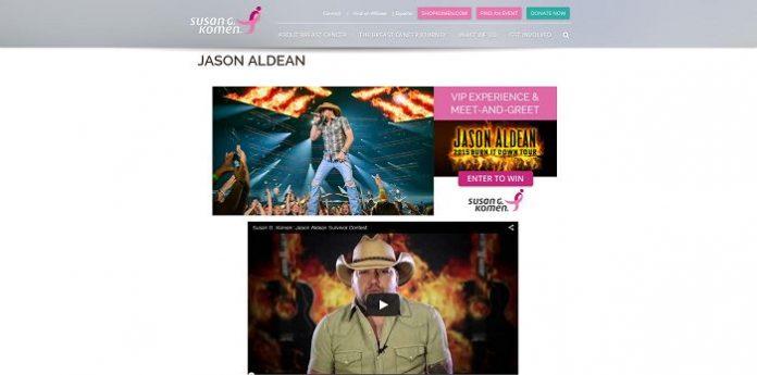 Jason Aldean Contest